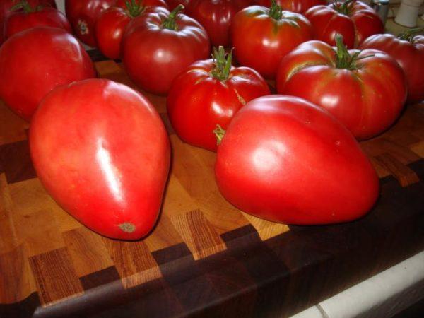 Огромное достоинство сорта - габаритность плодов