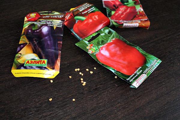 Выбор семян перца подходящего сорта