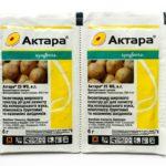 6-грамовая упаковка Актары против колорадских жуков