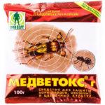 Медветокс - средство от медведки и садовых муравьев