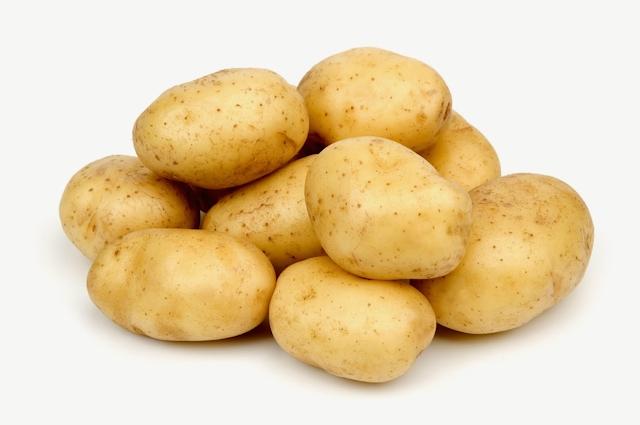 Крупный мытый картофель