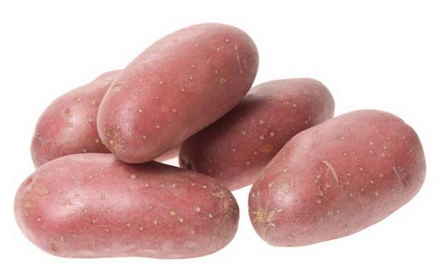 Бородянский розовый картофель
