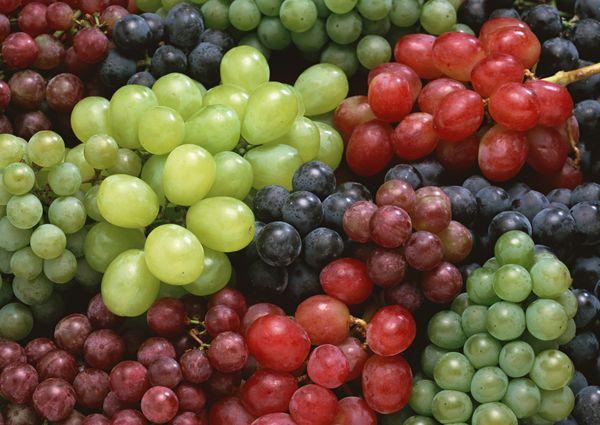В винограде множество витаминов