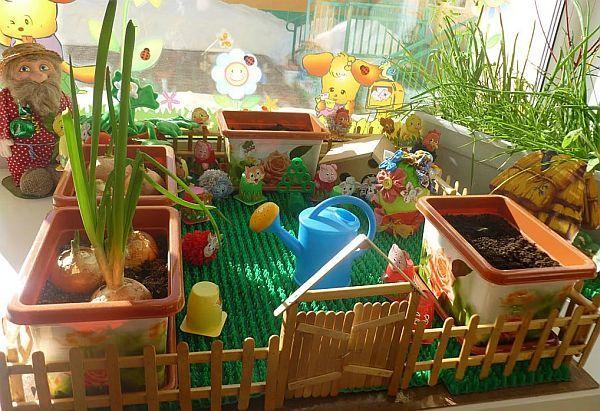 На подоконнике можно выращивать разные овощи