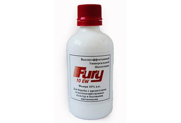 Высокоэффективный инсектицид Фьюри против вредителей