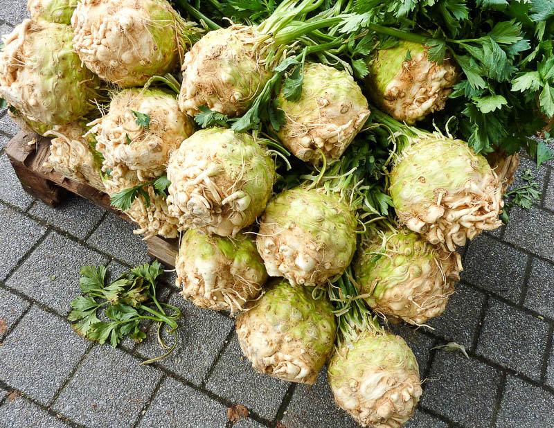 Урожай корневого сельдерея