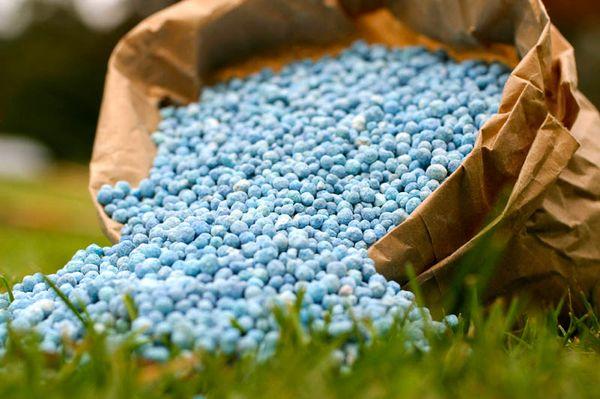 Минеральные удобрения содержат элементы питания