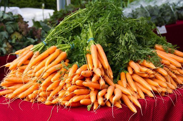 Морковь - очень полезный овощь