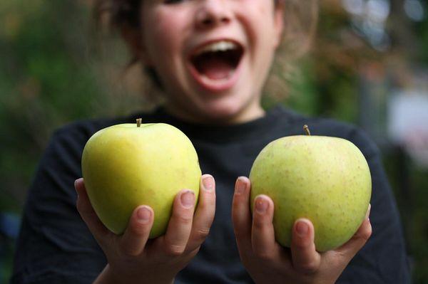 Яблоки Мутсу богаты витаминами