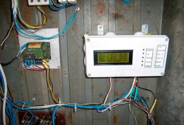 Прибор терморегуляции в теплице
