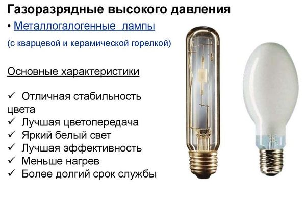 Газоразрядная лампа высокого давления