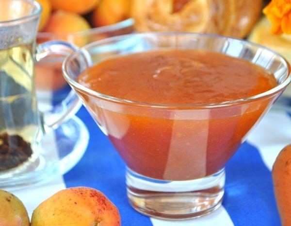 Ароматный и вкусный абрикосово-яблочный джем