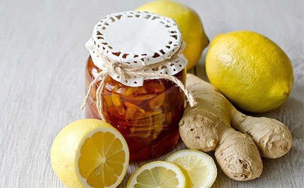 Варенье из лимона и имбиря содержит много полезных витаминов