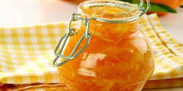 Сладкое варенье из груши с апельсином