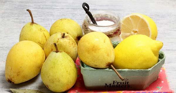 Вкусное варенье из груши с лимоном
