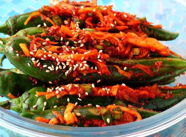 Горький перец чили по-корейски
