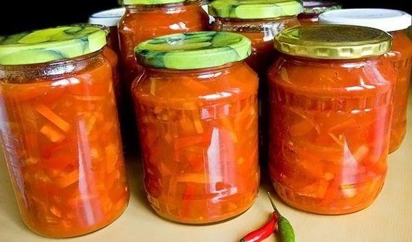 Кабачковое лечо «Оранжевое лето»