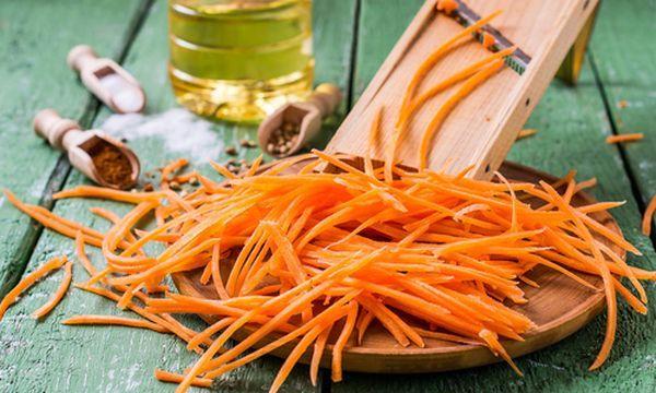 Рецепт морковки по-корейски без варки