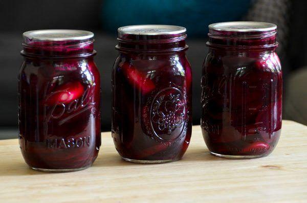 Классический рецепт маринованной свеклы