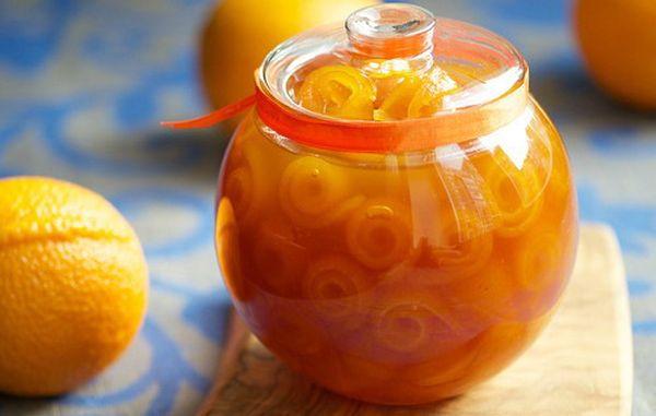 Апельсиновый джем очень полезен