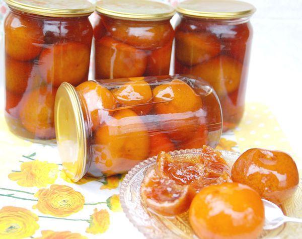 Варенье из целых мандаринов с кожурой
