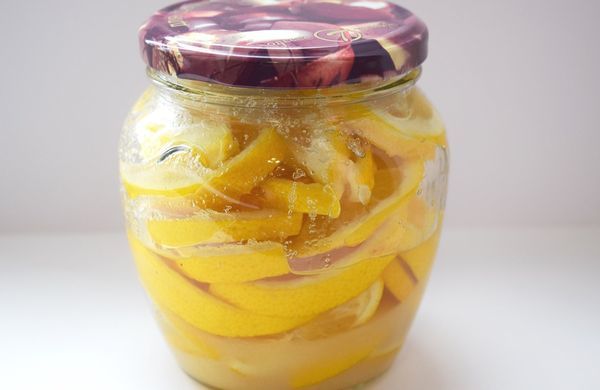Заготовка лимонного варенья на зиму