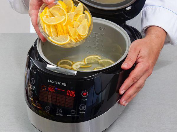 Варенье из лимонов можно приготовить в мультиварке