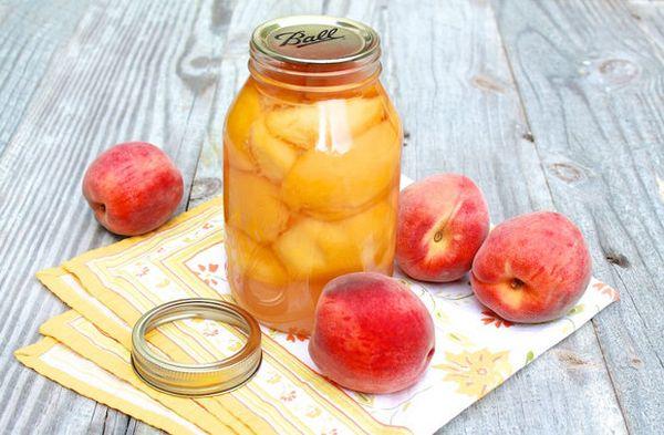 Консервированные персики по ГОСТу
