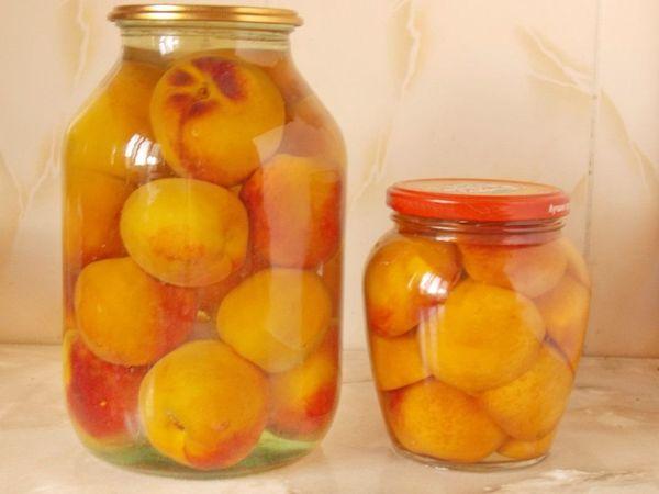Консервированные персики без стерилизации