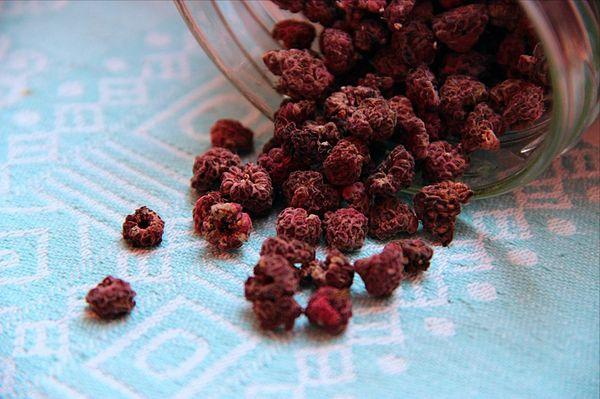 Сушеные плоды малины