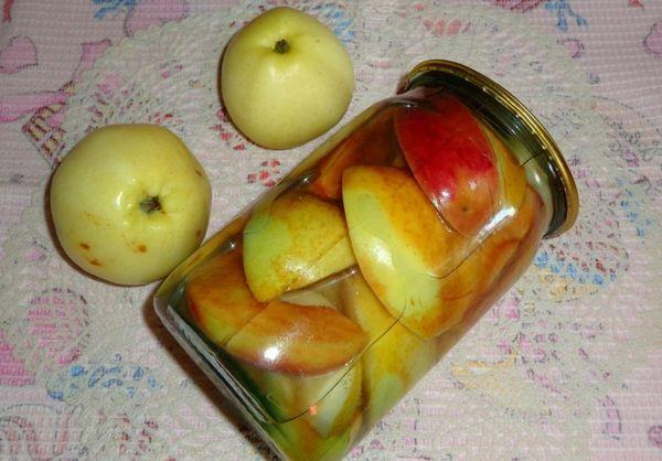 Маринованные яблоки без стерилизации